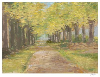 Fall Path III by Ethan Harper