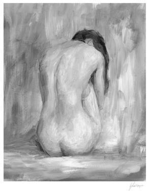 Figure in Black & White II by Ethan Harper