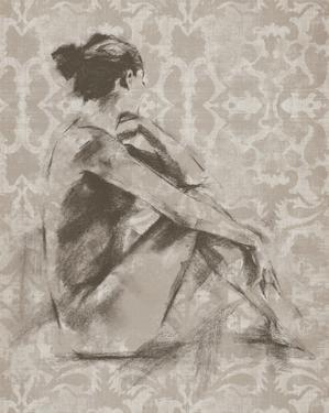 Figure with Damask I by Ethan Harper