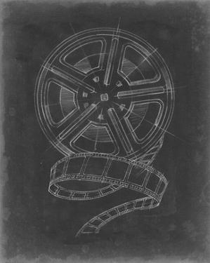 Film & Reel Blueprint I by Ethan Harper