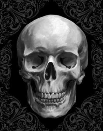 Glam Skull by Ethan Harper