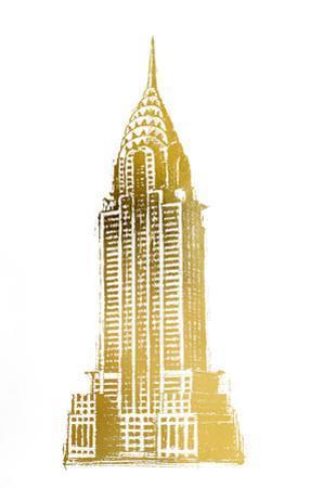 Gold Foil Chrysler by Ethan Harper
