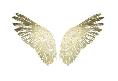 Gold Foil Wings II by Ethan Harper