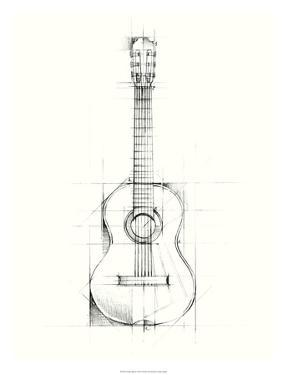Guitar Sketch by Ethan Harper