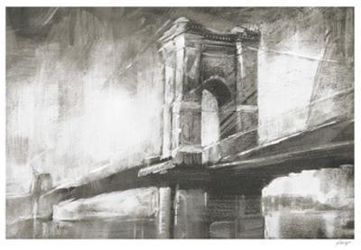 Historic Suspension Bridge I by Ethan Harper
