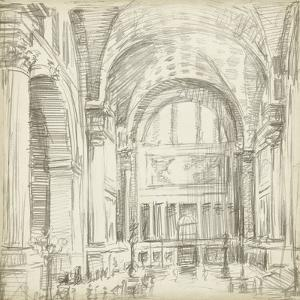 Interior Architectural Study IV by Ethan Harper