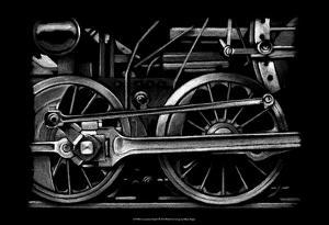 Locomotive Detail I by Ethan Harper