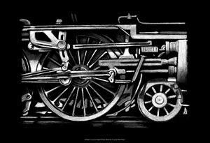Locomotive Detail II by Ethan Harper