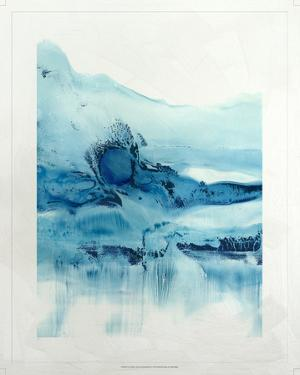 Lustr Blue Currents in Pearl White II by Ethan Harper