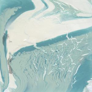 Marbled Aqua II by Ethan Harper