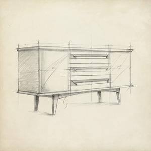 Mid Century Furniture Design V by Ethan Harper