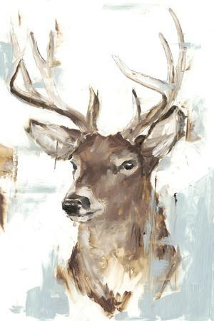 Modern Deer Mount II