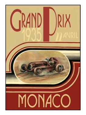 Monaco 1935- Poster by Ethan Harper