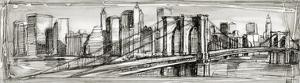 Pen and Ink Cityscape II by Ethan Harper