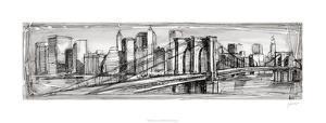 Pen & Ink Cityscape II by Ethan Harper