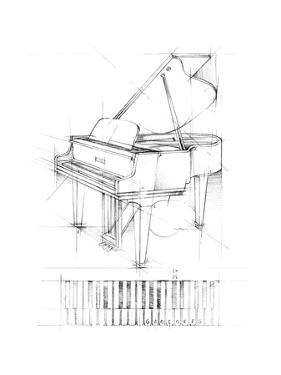 Piano Sketch by Ethan Harper