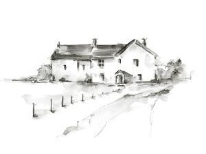 Rural Farmhouse Study I by Ethan Harper