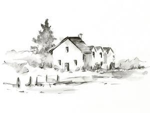 Rural Farmhouse Study II by Ethan Harper