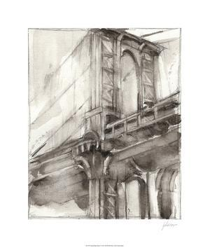 Sepia Bridge Study I by Ethan Harper