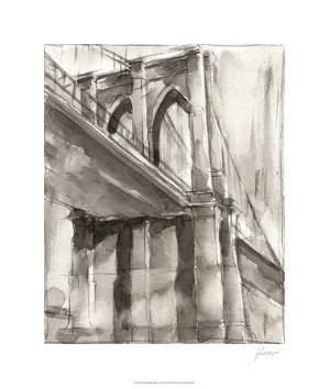 Sepia Bridge Study II by Ethan Harper