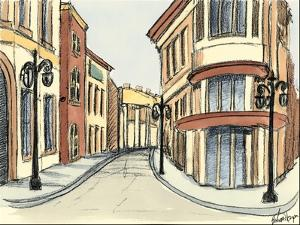 Sketches of Downtown IV by Ethan Harper