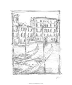 Sketches of Venice III by Ethan Harper