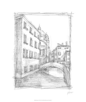 Sketches of Venice IV by Ethan Harper
