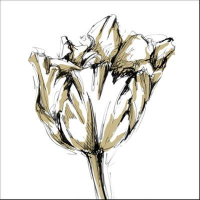 Small Tulip Sketch I by Ethan Harper