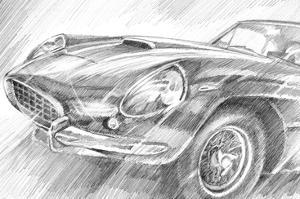 Sports Car Study II by Ethan Harper