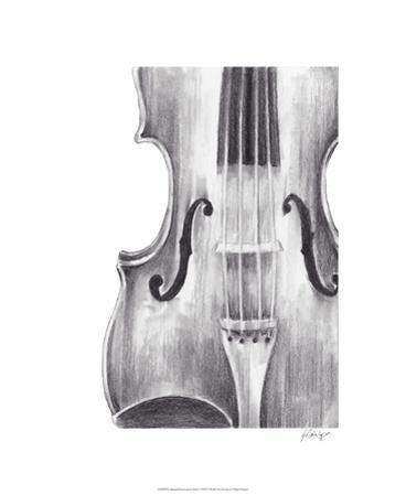 Stringed Instrument Study I by Ethan Harper