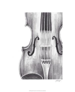 Stringed Instrument Study I by Ethan Harper