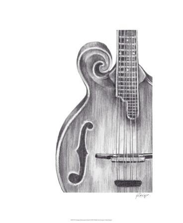 Stringed Instrument Study II by Ethan Harper