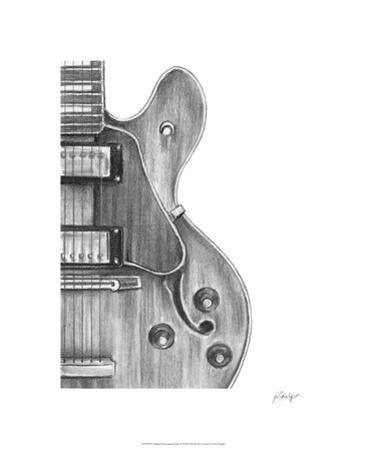 Stringed Instrument Study IV by Ethan Harper