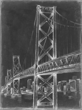 Suspension Bridge Blueprint II by Ethan Harper