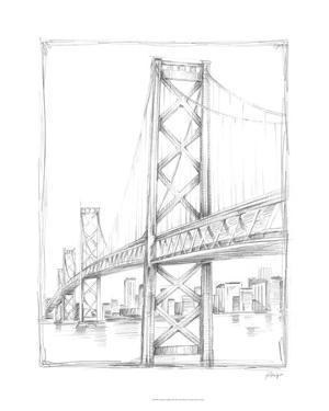 Suspension Bridge Study II by Ethan Harper