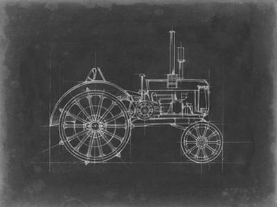 Tractor Blueprint II by Ethan Harper