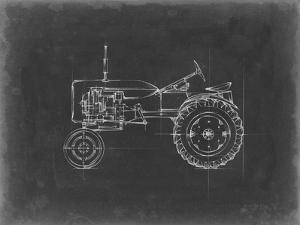 Tractor Blueprint III by Ethan Harper