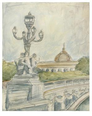 View of Paris IV by Ethan Harper
