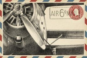Vintage Airmail II by Ethan Harper
