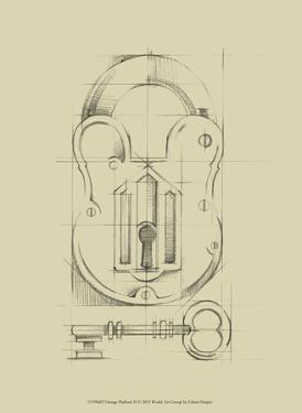 Vintage Padlock II by Ethan Harper