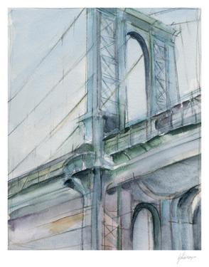 Watercolor Bridge Study I by Ethan Harper