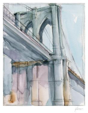 Watercolor Bridge Study II by Ethan Harper