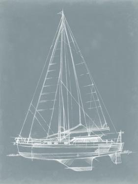Yacht Sketches I by Ethan Harper