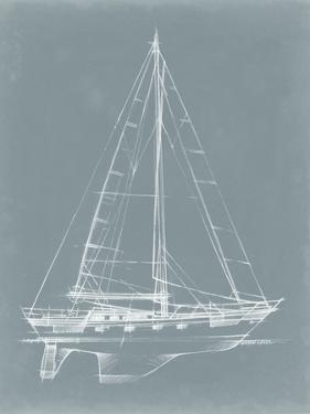 Yacht Sketches II by Ethan Harper