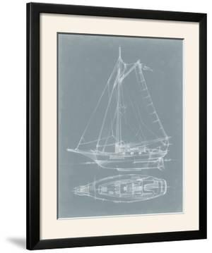 Yacht Sketches IV by Ethan Harper