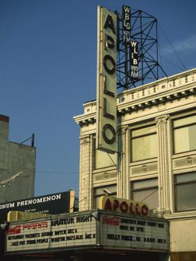 Apollo Theatre, Harlem, New York City, United States of America, North America by Ethel Davies