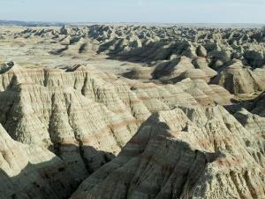 Badlands National Park, South Dakota, USA by Ethel Davies
