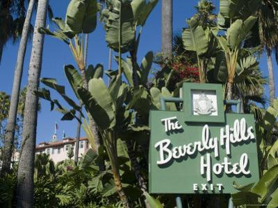 Beverly Hills Hotel, Beverly Hills, California, USA by Ethel Davies
