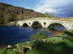 Bridges, Kenmore, Loch Tay, Scotland, United Kingdom, Europe by Ethel Davies
