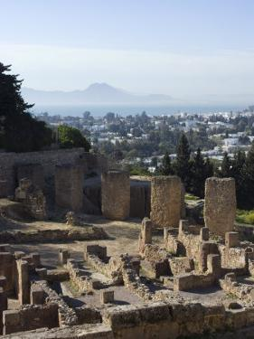 Byrsa Hill, the Original Punic Site at Carthage, UNESCO World Heritage Site, Near Tunis, Tunisia by Ethel Davies